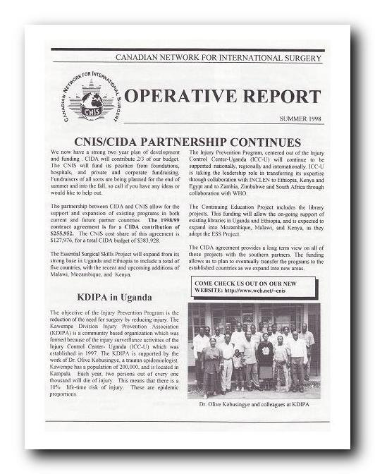 Download CNIS Newsletter Summer 1998 PDF